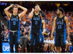 Luke Kennard, Jayson Tatum and Matt Jones Duke Players, Matt Jones, Jayson Tatum, Duke Basketball, Tank Man, Sports, Mens Tops, Hs Sports, Sport