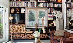 15 ideas geniales para guardar leña dentro de casa - IMujer