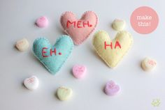 Tutorial - stuffed Iconic Hearts