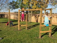 The Dabbling Crafter: DIY Monkey Bars