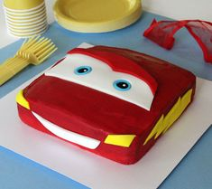 lightning mcqueen bday party ideas Google Search cakes to make