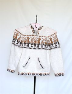 Vintage Toddler Sweater in Soft Alpaca Yarn by pinebrookvintage, $10.00