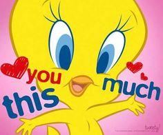 Cartoon Pics, Cute Cartoon Wallpapers, Cartoon Characters, Funny Animal Pictures, Cute Funny Animals, Bird Pictures, Disney Pictures, Tweety Bird Quotes, Cute Good Morning Quotes