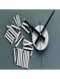 Cheap wall clock large, Buy Quality wall clock directly from China clock large Suppliers: Zero DIY Luxury Wall Clock Large Size Home Decoration Art Clock Silver 3d Wall Clock, Diy Clock, Metal Fashion, Large Clock, Unique Gifts, Home And Garden, Luxury, Silver, Home Decor