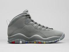 """Air Jordan 10 """"Cool Grey"""""""