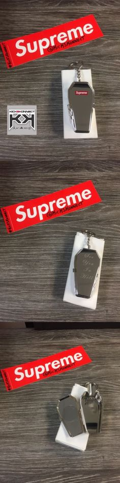Key Chains Rings and Cases 52373: Supreme Coffin Keychain - Fw17 In Hand Silver Authentic Certified -> BUY IT NOW ONLY: $60 on eBay!