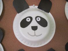 Panda craft idea for preschoolers – preschool crafts and worksheets