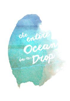 Poster ocean do Studio Doart por R$55,00