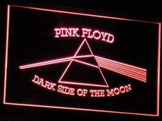 Pink Floyd Dark Side of the Moon Triangle LED Neon Sign