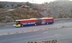 'Naš Hajduk' bus