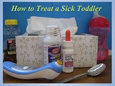 Is your toddler sick? Learn how to treat and care for sick toddlers who may have a cold, a cough, a fever, a stomach virus, or the flu. Also learn when to call the doctor when your child is sick. Sick Toddler, Sick Baby, Sick Kids, Baby Love, Toddler Food, Baby Health, Kids Health, Children Health, Health Care