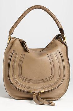 Always a favorite! Chloé 'Medium Marcie' Leather Hobo.