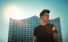 Download wallpapers Felix Jaehn, German DJ, house DJ, Portrait, famous DJ