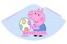 Peppa Pig, Teacup Pigs, Happy