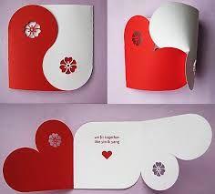 Resultado de imagen para tarjetas de aniversario hechas a mano