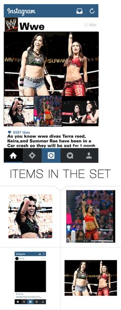 """""""Wwe Instagram post"""" by wannabebriebella ❤ liked on Polyvore featuring art"""
