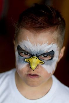 Aigle facepainting                                                                                                                                                      More