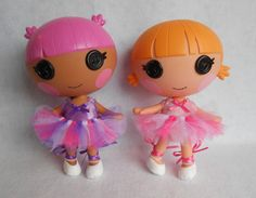 Lalaloopsy Littles Clothes - Custom Tutu - Made to Order - You Choose the Colors - TUTU ONLY