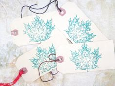 Tags Leaves Thank you Gift  Tags by SassyDefined on Etsy, $2.50