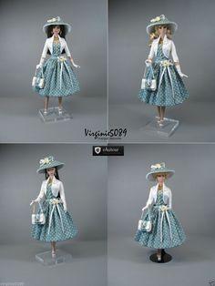 Tenue Outfit Accessoires Pour Fashion Royalty Barbie Silkstone Vintage 1359 | eBay
