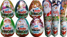 """Christmas Kinder Surprise - Unboxing of Kinder Surprise Eggs - Kinder Jaja 2015 Xmas unboxing """"Jaja"""""""