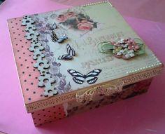 caixa borboletas