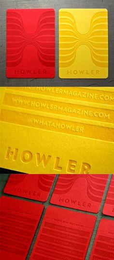 Brilliant Soccer Themed One Colour Letterpress Business Cards