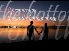 I Promise You - Backstreet Boys - YouTube ( a beautiful and reassuring love song, thres always fears but thre is such a true love song existed to end the nite, its alrite to fear but never give up on urself, do wat u do best, giving love and be the best)