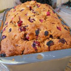 The new Everyday Food arrived this week and thankfully there were lots of things in there to try. Fruit Bread, Banana Bread, Corn Bread, Cranberry Bread, Butter Spread, Everyday Food, Meals For One, Recipe Using, Coffee Cake