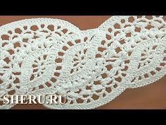 How To crochet Zigzag Lace Tape Урок 28 часть 1 из 4 Техника ленточное кружево - YouTube