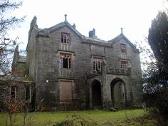 Favour Royal Manor (1825) is a rather austere, Tudor-Gothic mansion  with associated out-buildings, now abandoned.