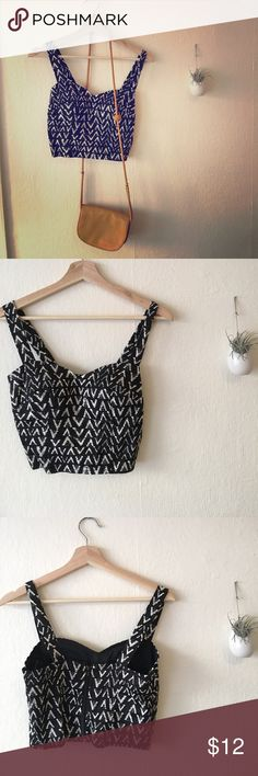 Padded boho crop top For the Coachella bound queeeeeen Charlotte Russe Tops Crop Tops