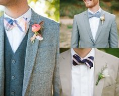 Bow Ties for Every Style on itsabrideslife.com/Grooms Suits/Groomsmen Suits/Bow Ties/Wedding Ties
