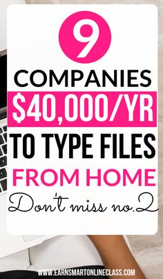 Looking for transcription companies so you can work from home? Here's a list of 10 transcription companies hiring newbies worldwide. They accept both experienced and entry-level transcriptionists. Work From Home Careers, Work From Home Companies, Work From Home Moms, Make Money From Home, Way To Make Money, Transcription Jobs From Home, Transcription Jobs For Beginners, Earn Money Online, Online Jobs