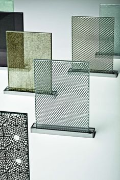 Tex Glass®  - Reminiscient of Georgian wired glass - slick contemporary take