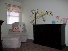 Owl Nursery - wall decal