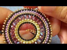 DIY- Brick stitch earrings with Czech fire polish beads and seed beads- . DIY- Brick stitch earrings with Czech fire polish beads and seed beads- . Bead Jewellery, Seed Bead Jewelry, Seed Bead Earrings, Beaded Earrings, Seed Beads, Earring Tutorial, Diy Tutorial, Diy Crafts Jewelry, Beaded Jewelry Patterns