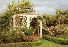 Victorian Country Garden - Victorian Homes