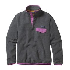 LADIES MUST HAVE: Keep cozy today with a new Patagonia ladies synchilla pullover. Check your local Dry Falls for availability.