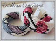 free bead crochet tutorials, bracelets, how to make crochet round ...