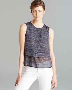 Theory Shirt - Hodal Multi Tweed | Bloomingdale's