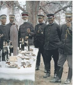 Officers of the Imperial Japanese Army, 日露戦争 Russo-Japanese War.