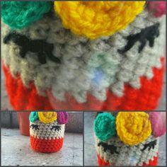Fundida Frida para mates #crochetaddict #sandiacrochet