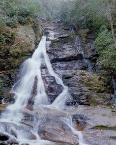 High Shoals Falls Hiawassee Ga