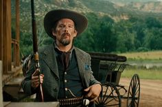 The Magnificent Seven 2016 Movie Wallpaper 27 Gaucho, Magnificent Seven 2016, Cowboy Action Shooting, Willem Dafoe, Movie Makeup, Ethan Hawke, Tv Westerns, Blockbuster Movies, Victorian Steampunk