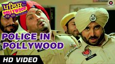 #PoliceInPollywood Official Video - Police In Pollywood - #AnujSachdeva & #BhagwantMann