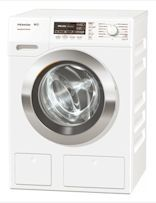 Miele's W1 8kg Washing Machine is a front-loading washing machine with the PowerWash system and TwinDos to revolutionary Miele cleanliness (WKH 130 WPS)