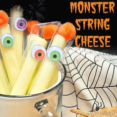 Image result for healthy halloween snacks to make in school