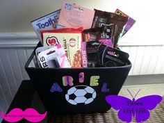 Youth / Tween Girl Birthday Gift Basket