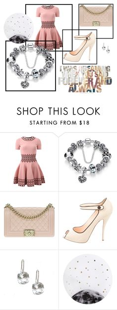 """Без названия #135"" by ashartyray on Polyvore featuring мода, Alexander McQueen, Chanel, Christian Louboutin и Lollipop"